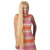 Wig 36 Inch Long Blonde